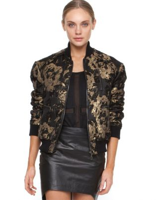 Fall Trends: Statement Bomber Jacket