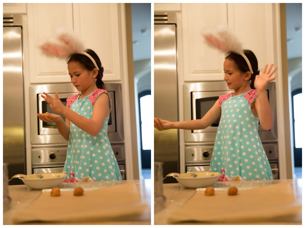 Baking with the Easter Bunny