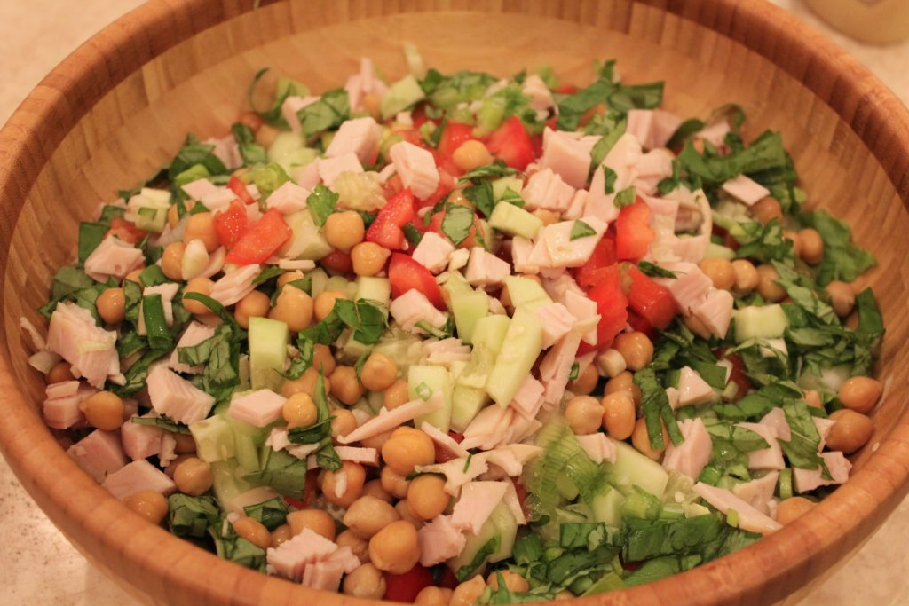 Healthy Italian Chopped Salad Recipe