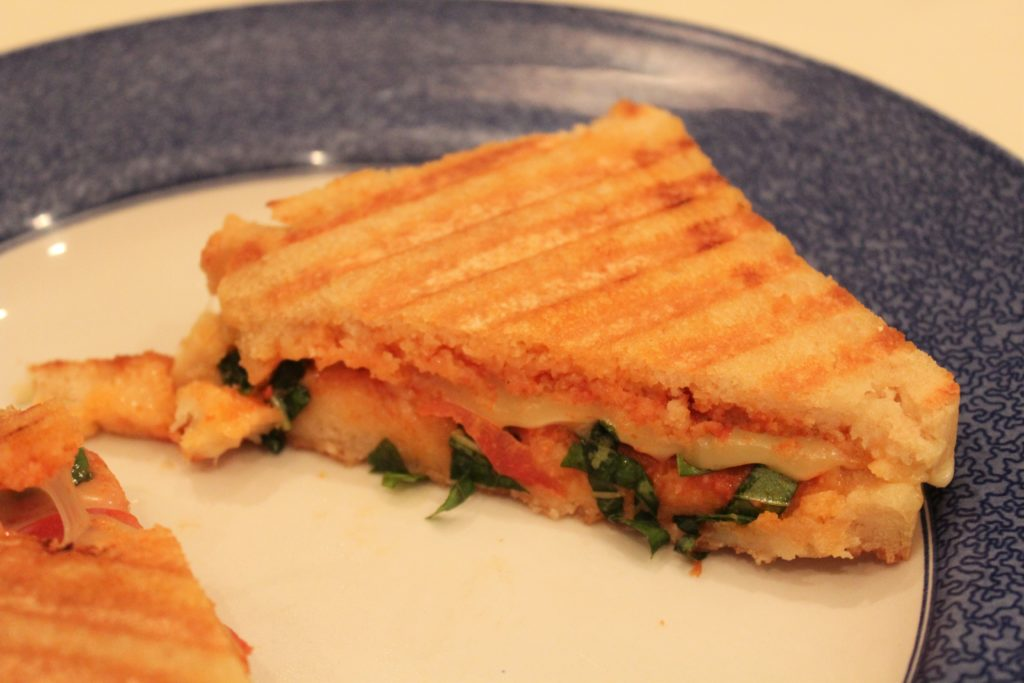 Gluten-Free Grilled Cheese Pizza