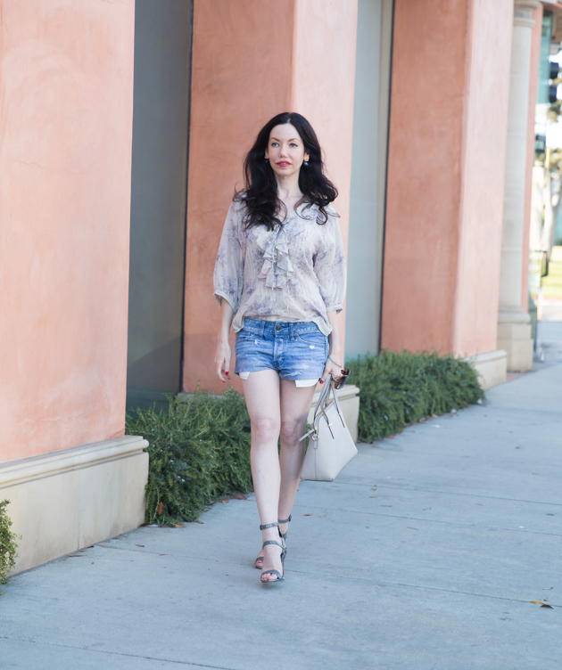 Denim and Supply Bohemian Blouse