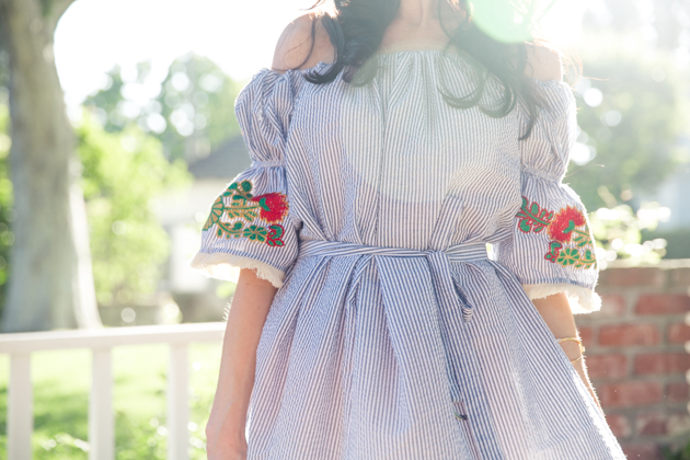 Storets Embroidered Dress