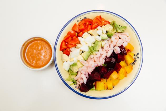Bay Shrimp Cobb Salad Recipe