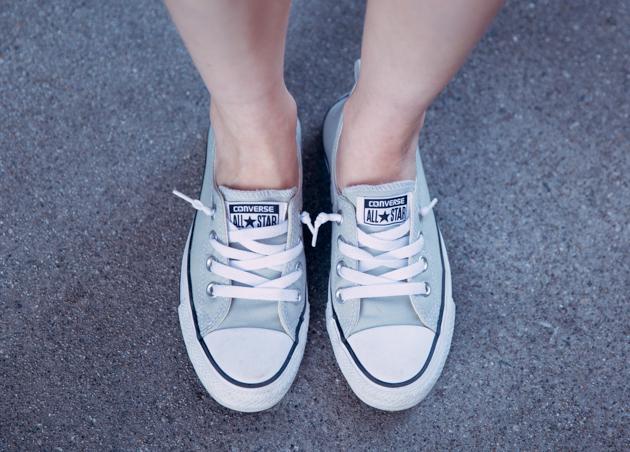 Grey Converse Sneakers