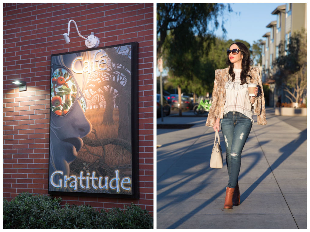 AG Jeans and Storets Blouse
