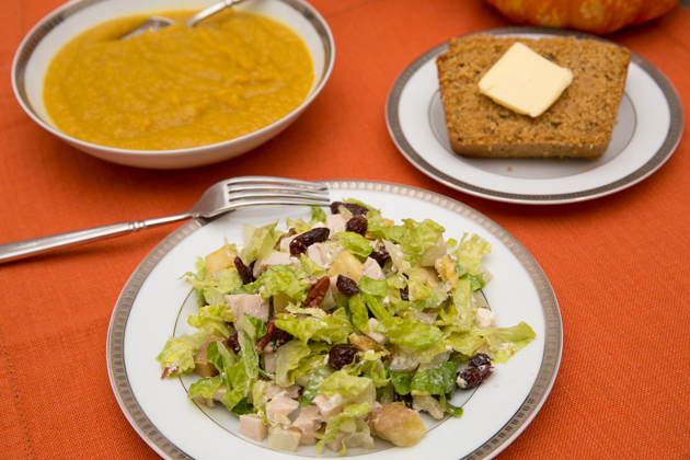 Thanksgiving Chopped Salad Recipe