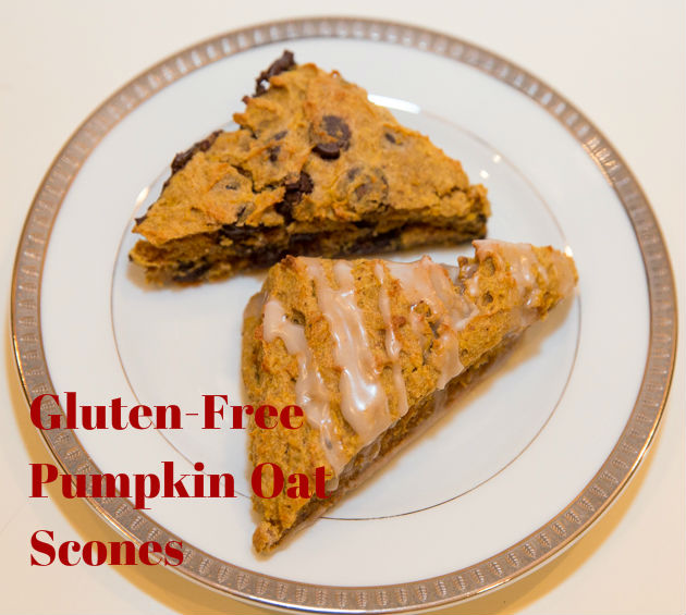 Gluten Free Pumpkin Oat Scones
