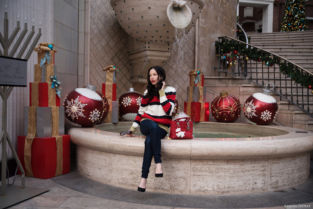 Beverly Hills Winter Wonderland Storets Sweater