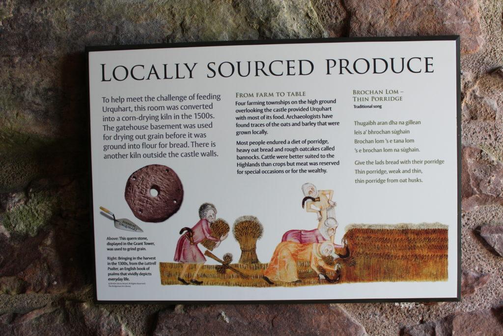 Urqhart Castle Historic Scotland