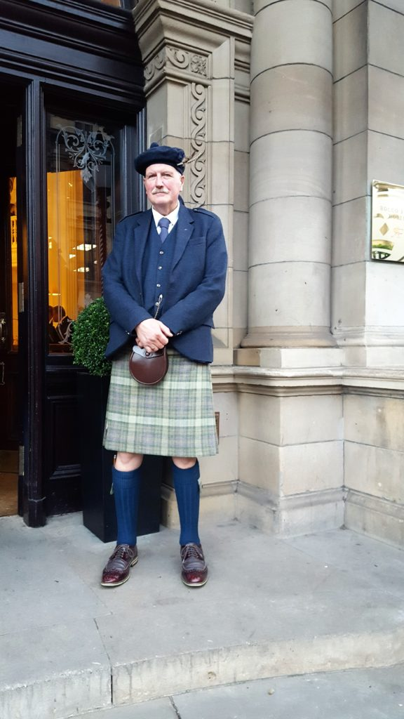 Edinburgh Photo Diary: Balmoral Hotel