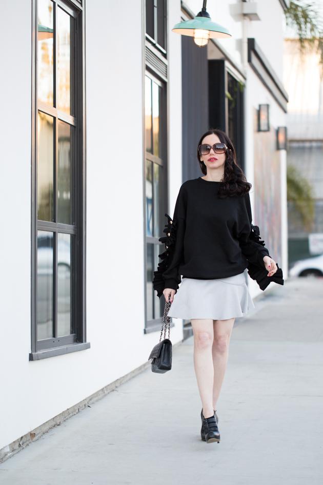 Storets Ruffled Sweater