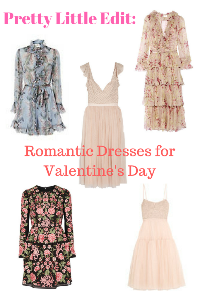 Romantic Dresses for Valentine's Day
