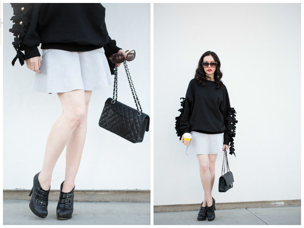 Storets Ruffled Sweater,
