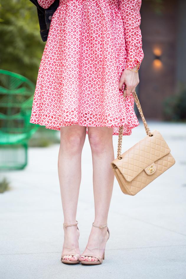 Metisu Red Eyelet Dress