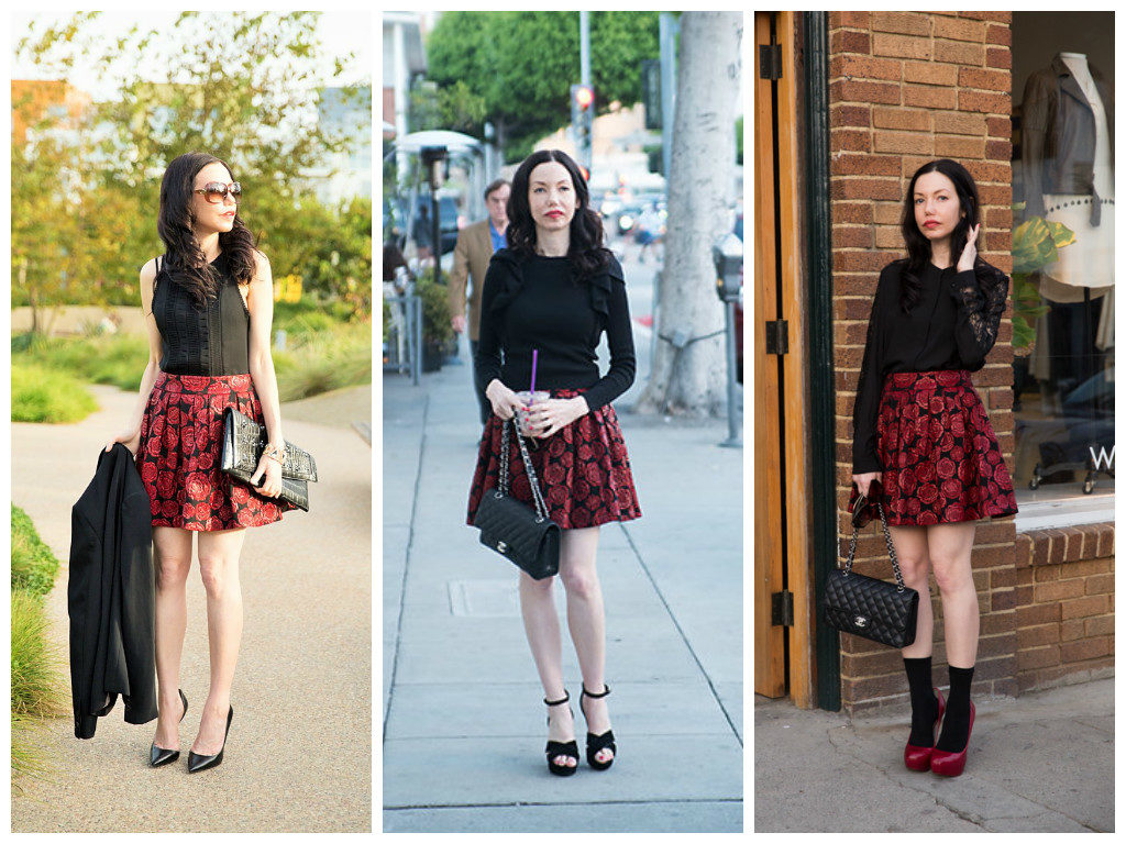 One Skirt, Three Ways