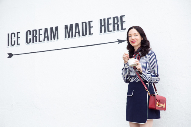 Pretty Little Shoppers Blog Visits Ginger's Divine Ice Creams