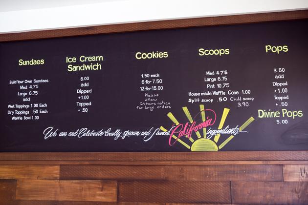 Ginger's Divine Ice Creams,
