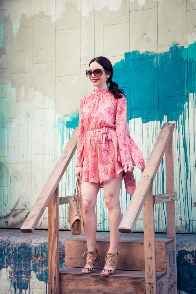 Pretty Little Shoppers Blog in Metisu Romper