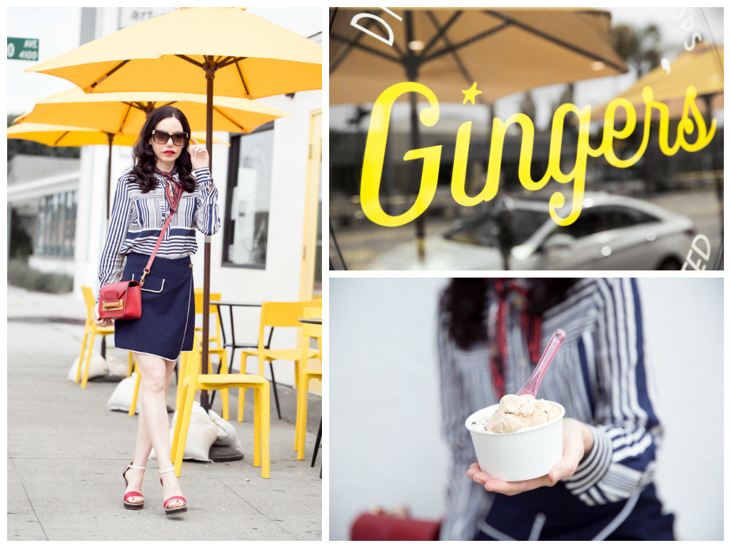 Pretty Little Shoppers Blog Visits Ginger's Divine Ice Creams,