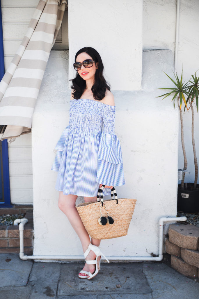 Lisa Valerie Morgan wears Goodnight Macaroon Dress