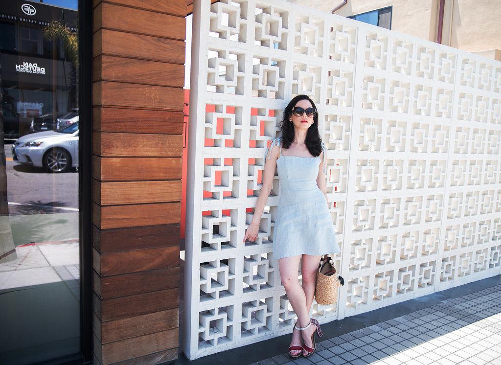 Reformation Linen Dress