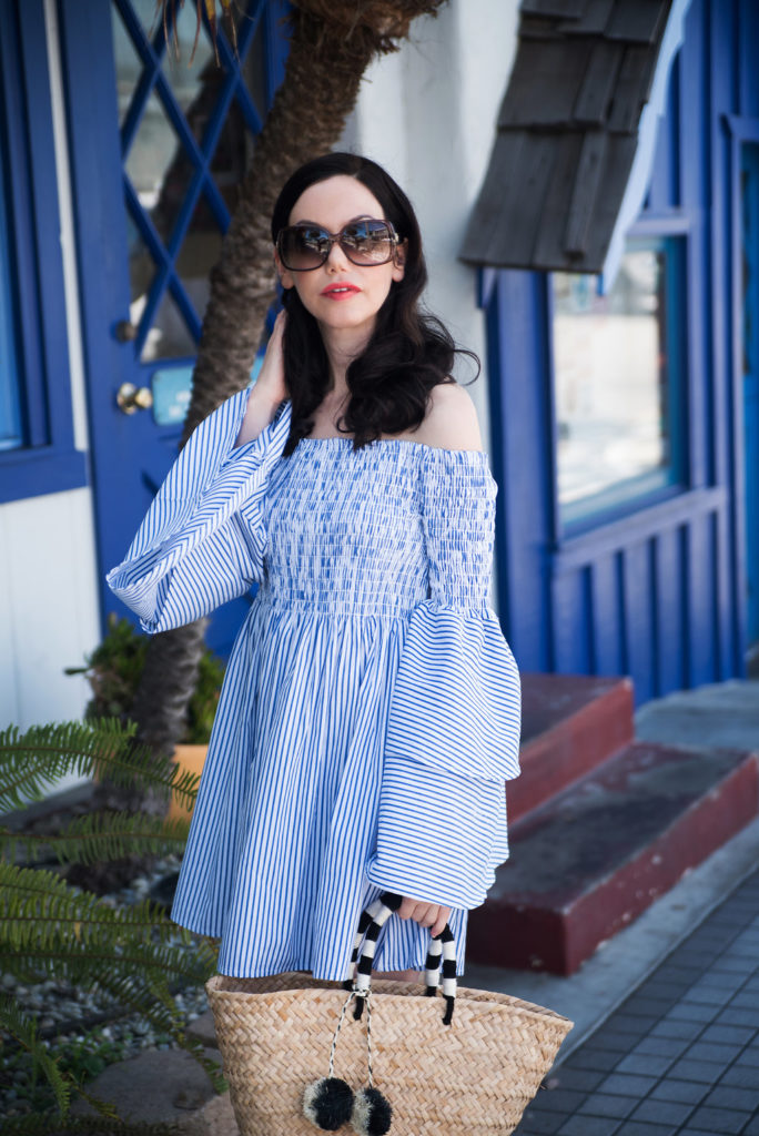 Goodnight Macaroon Striped Dress