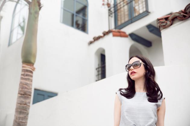 Lisa Valerie Morgan wears Metisu Top