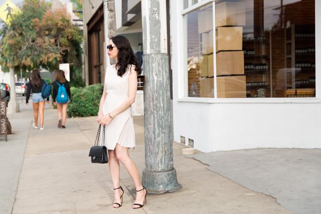 Lisa Valerie Morgan wears Metisu Dress