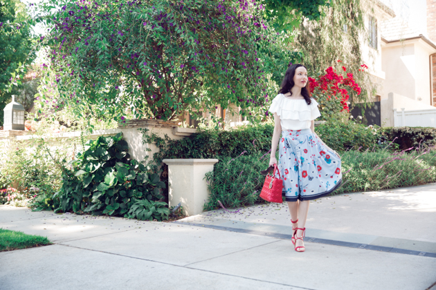 Summertime Look from Pretty Little Shoppers Blog