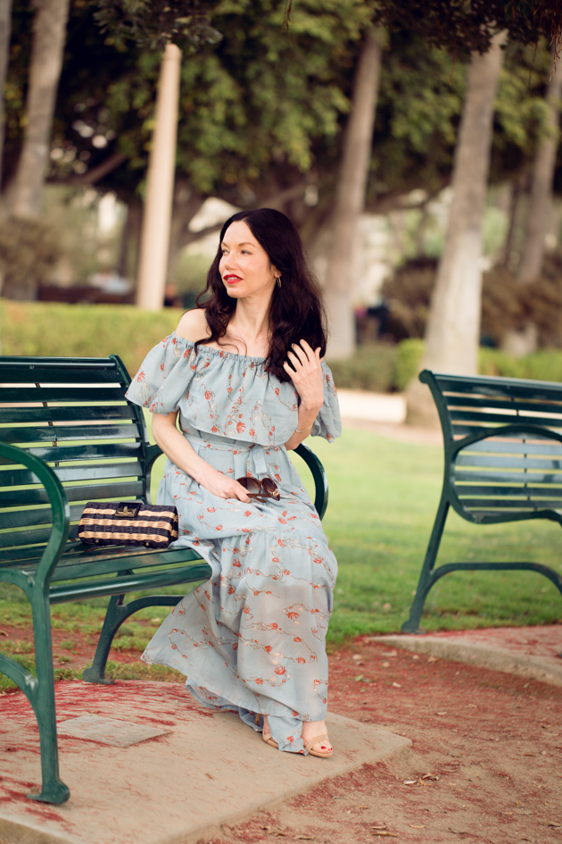 Lisa Valerie Morgan wears Greigh Goods Dress