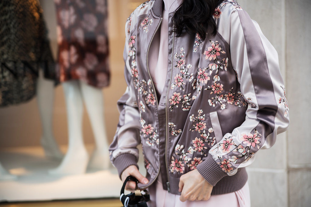 Lovers and Friends Bomber Jacket
