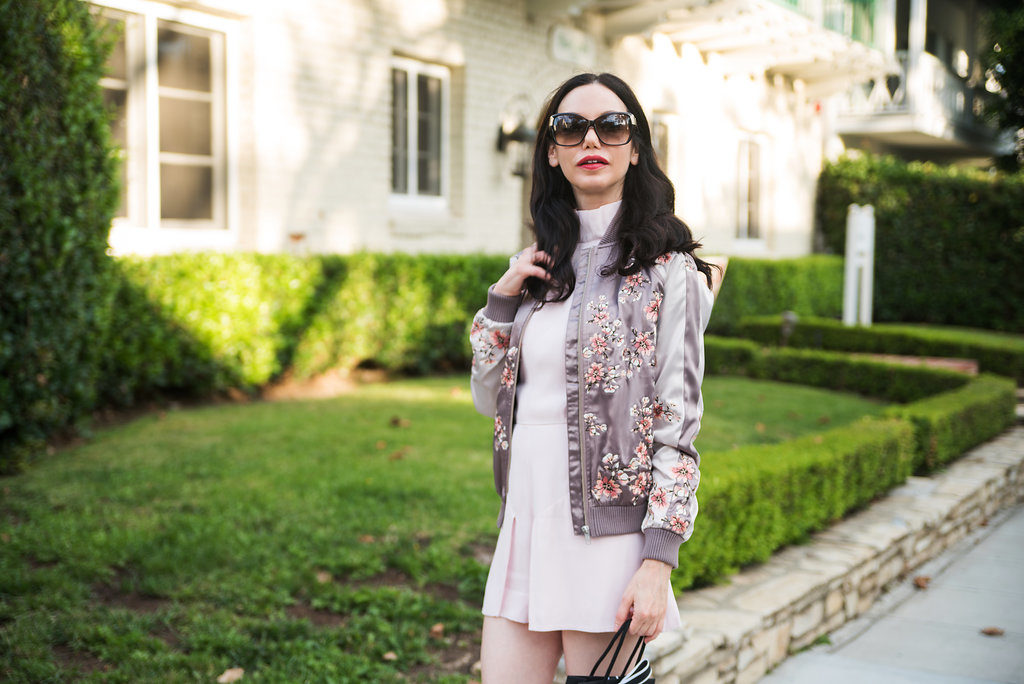 Lovers and Friends Bomber Jacket and Keepsake the Label Romper
