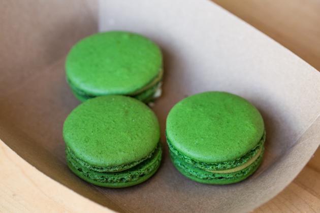 Green Tea Macaroons - Shuhari Matcha Cafe