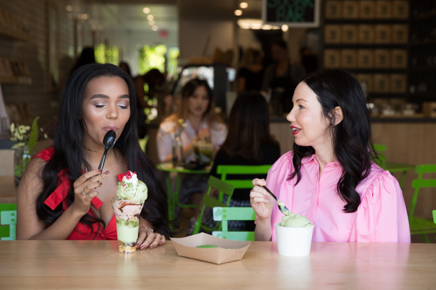 Ice Cream Date with Daphne Blunt - Pretty Little Shoppers Blog