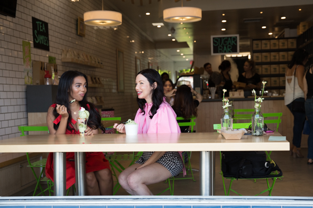 Lunch Date at Shuhari Matcha Cafe - Pretty Little Shoppers Blog