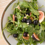 Blueberry, Fig and Goat Cheese Salad