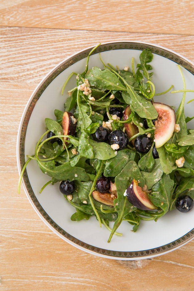Blueberry, Fig and Goat Cheese Salad Recipe by Pretty Little Shoppers Blog