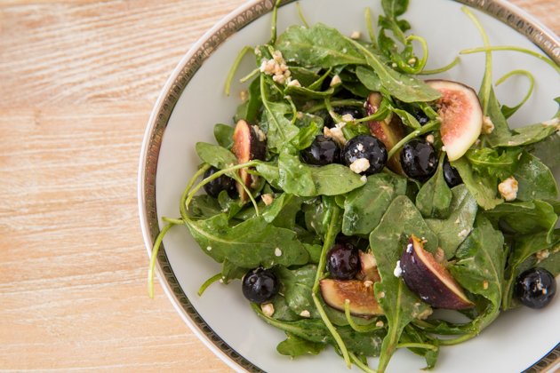 Blueberry, Fig and Goat Cheese Salad Recipe - Pretty Little Shoppers Blog