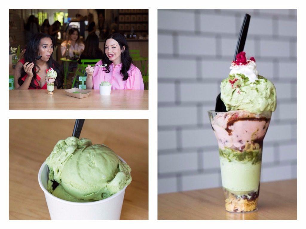 Matcha Ice Cream - Shuhari Matcha Cafe