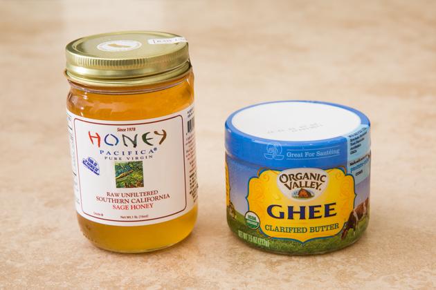 Organic Ghee and Raw Honey
