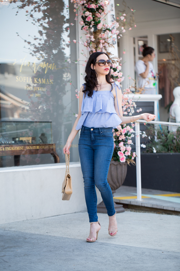 Pretty Little Shoppers Blog x Mott & Bow Denim