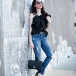 How to Style a Ruffle Top