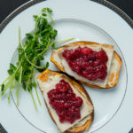 Turkey and Cranberry Sweet Potato Toast