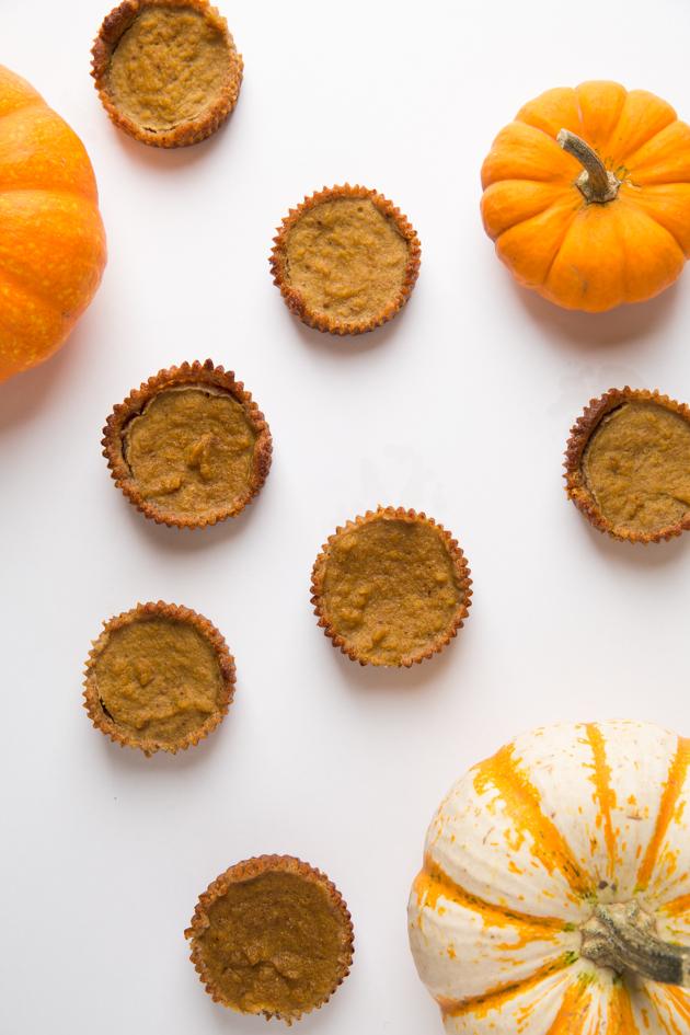 Gluten-Free Pumpkin Tarts