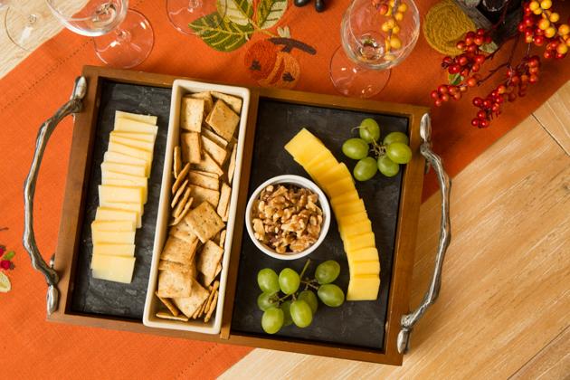 Artisanal Cheese Platter for Thanksgiving