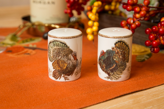 Plymouth Turkey Salt & Pepper Shakers