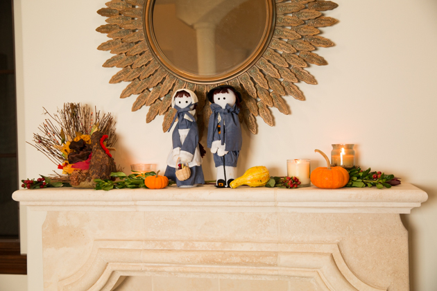 How to Decorate Your Mantel for Thanksgiving