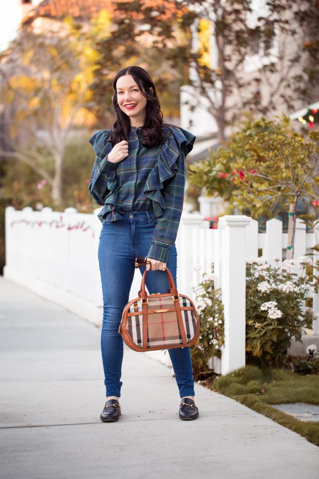 Back at Plaid Again - Pretty Little Shoppers Blog