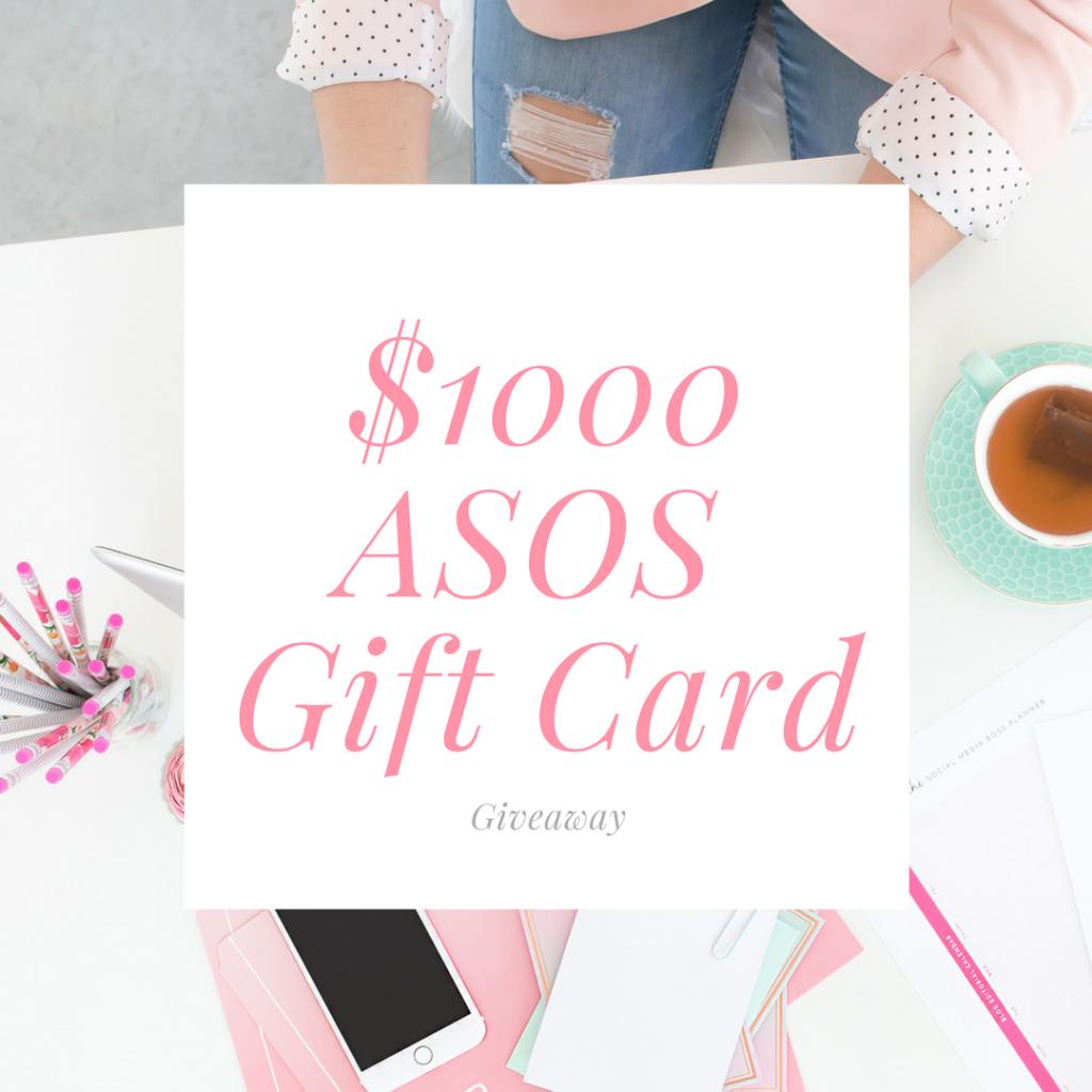 $1000 ASOS Gift Card