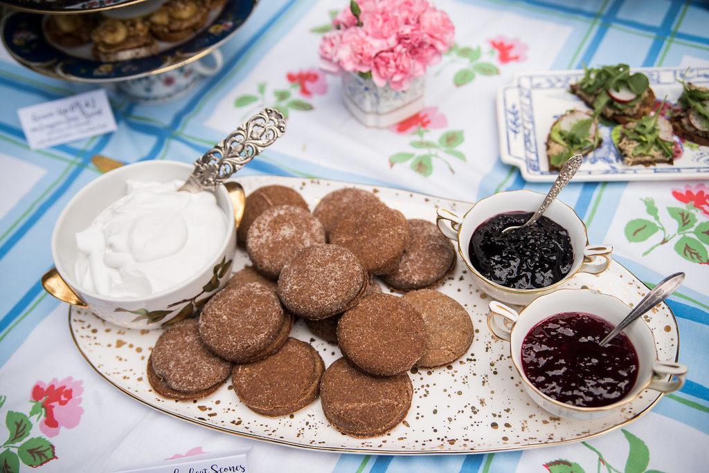 Gluten Free Scones with Coconut Cream and Jam